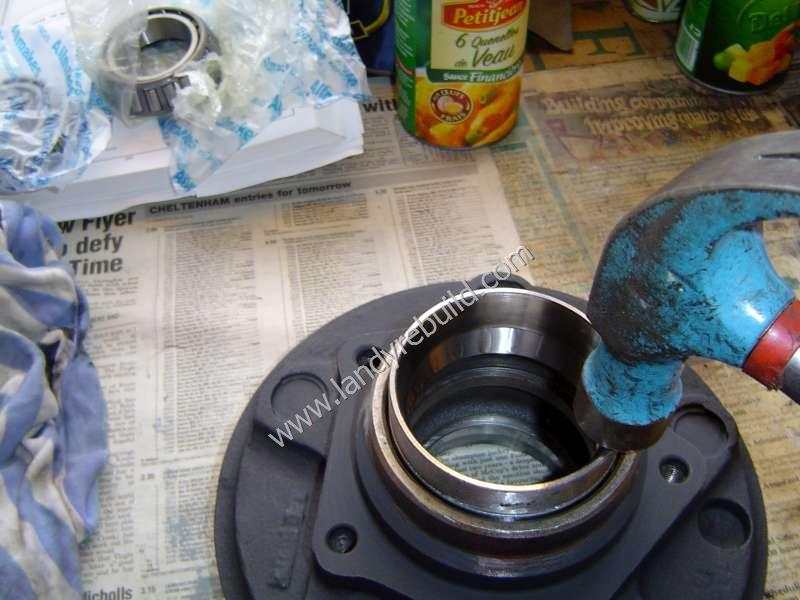 Bearing installation