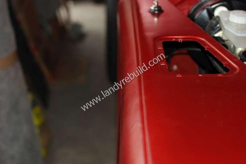 Driver side front wing 110