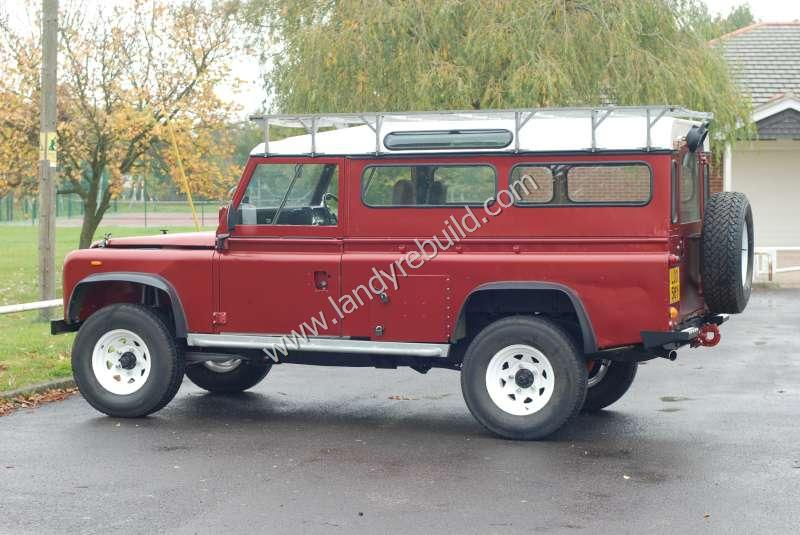 Left view Land Rover 110