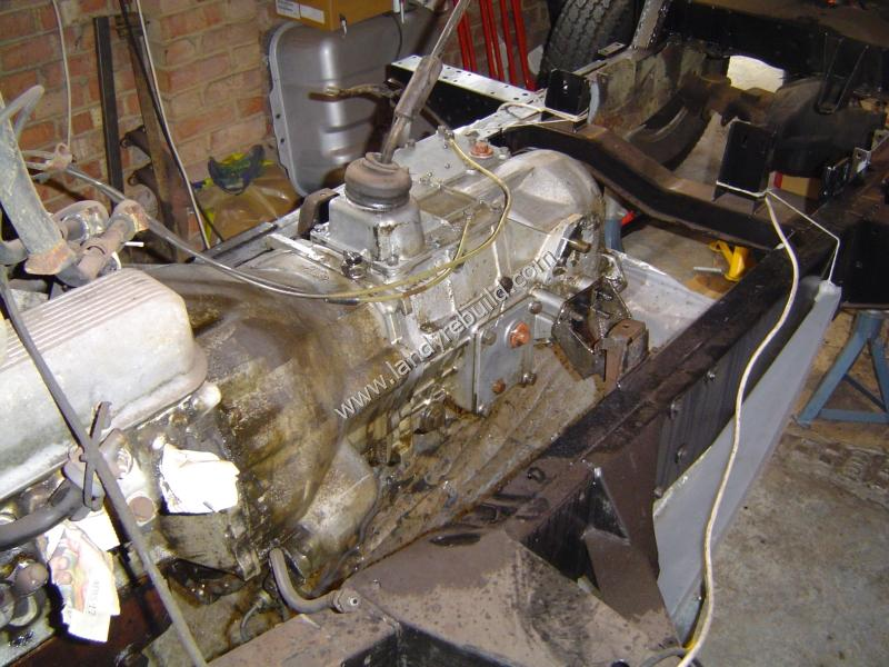 Cleaning gearbox