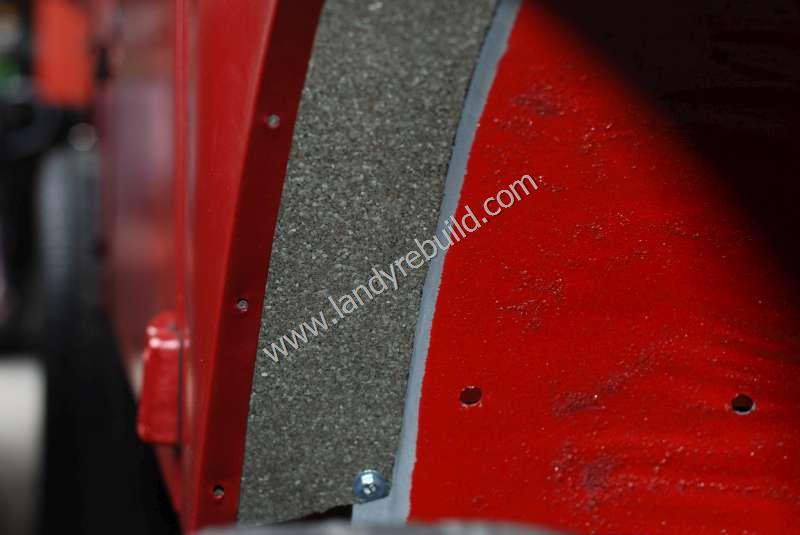 Land Rover 110 inner front wing