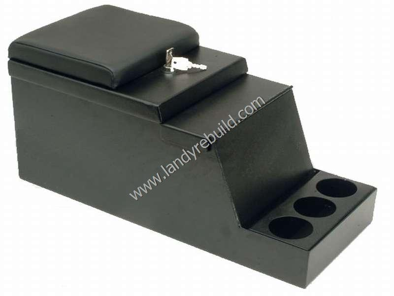 Lockable cubby box for Land Rover 110