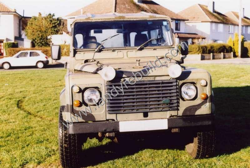 Front view Land Rover 110