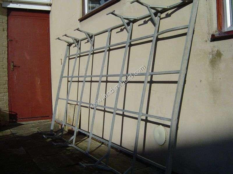 Galvanized roof rack