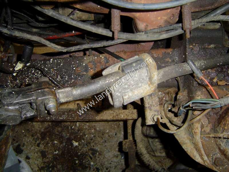 Collapsible Steering Column middle
