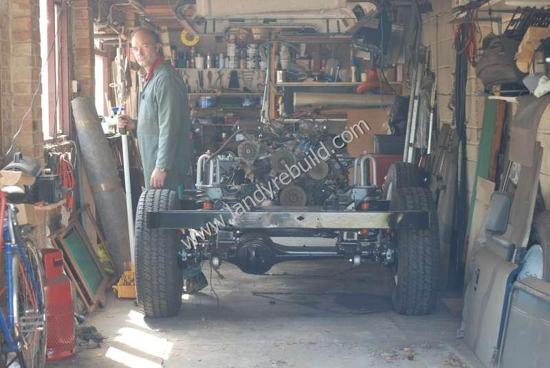 Axles reattached
