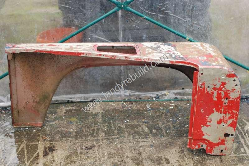 Passenger wing stripped